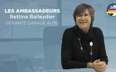 Ambassadeur SSAM 2020 : Bettina, gérante d'un garage automobile
